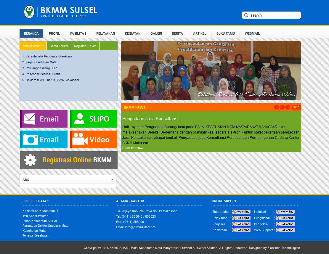 Portal BKMM SulSel